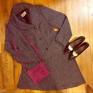 🆕👱🏾♀️PLUS Danny & Nicole Skirt Suit Blk/Wh- 14